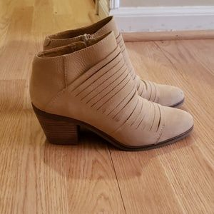 Leather Ankle Boots Lucky Brand